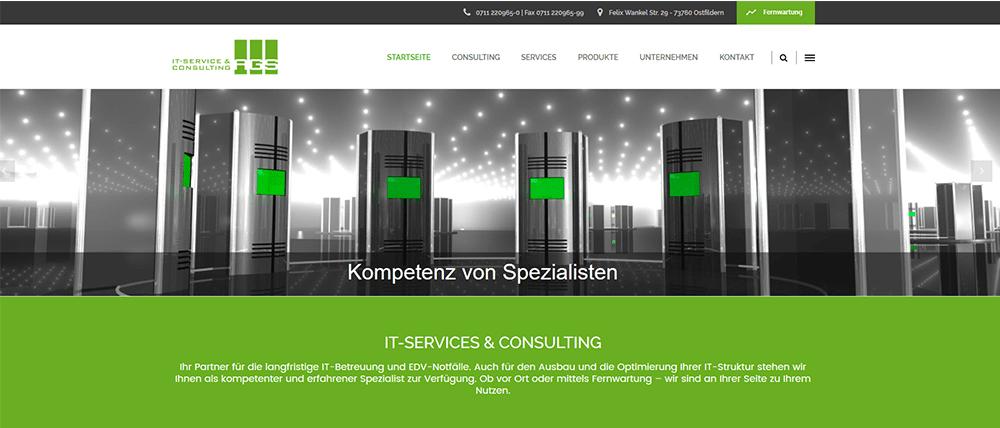 website ist online